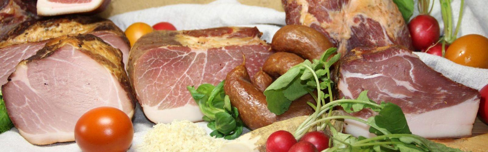 Motivbild der Seite OsterJause / Osterfleisch gekocht, geselcht