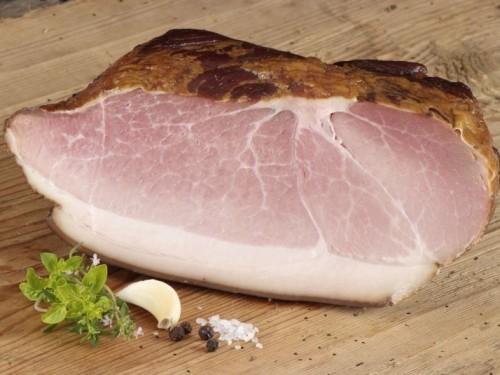 Symbolfoto für Labonca Schinken gekocht, geräuchert