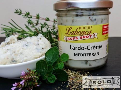 Symbolfoto für Lardo-Crème MEDITERRAN 140g Glas
