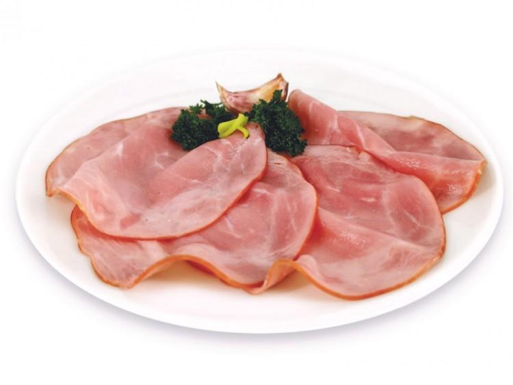 Symbolfoto für Rauchschinken vom Big Pork geschnitten 100g