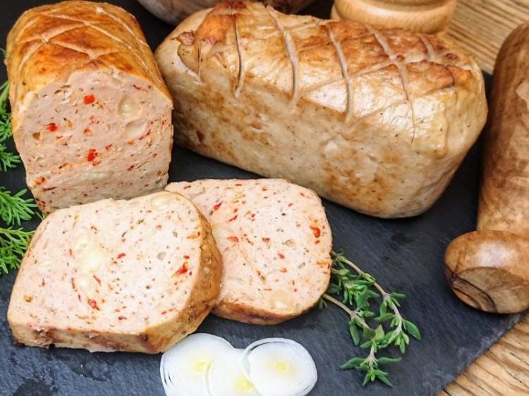 Symbolfoto für Grill-Leberkäse Käse 360g