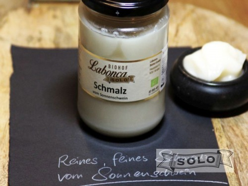Symbolfoto für Schmalz im Glas 330g