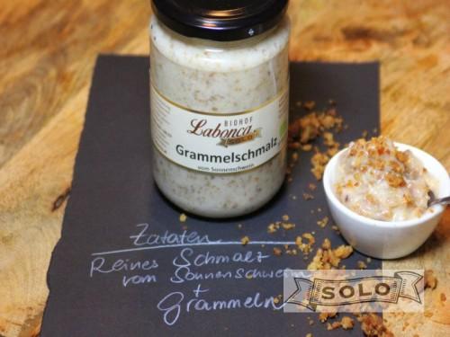 Symbolfoto für Grammelschmalz 330 g Glas