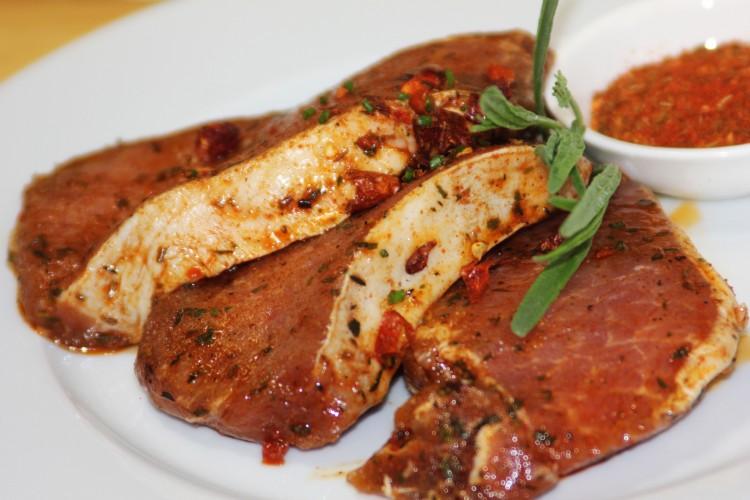 Symbolfoto für Karree-Steak mariniert