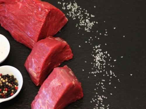 Symbolfoto für Kluft-Steak vom Bergscheckenrind