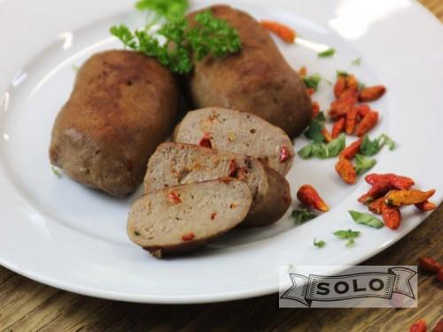 Symbolfoto für ChiliLeberkäse zum Braten und Grillen