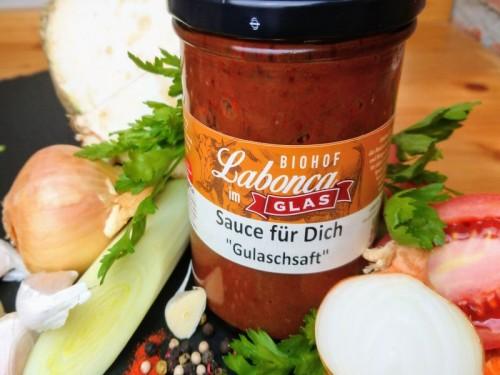 Symbolfoto für Sauce für Dich-Gulaschsaft
