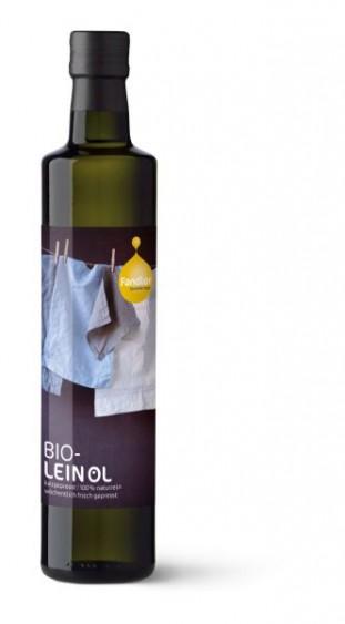 Symbolfoto für Bio-Leinöl 0,25 l